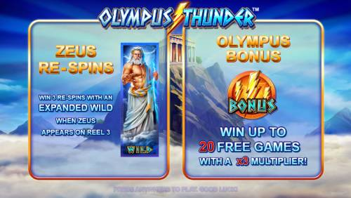Olympus Thunder review on Big Bonus Slots