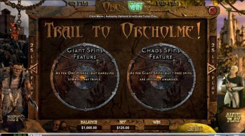 Orc vs Elf Big Bonus Slots Trail to Orcholme Rules - Continued