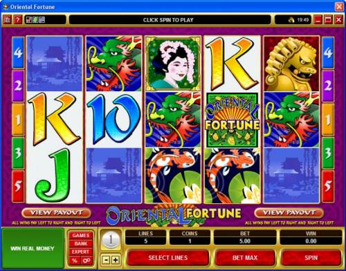 Oriental Fortune review on Big Bonus Slots