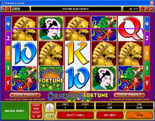 Oriental Fortune review on Big Bonus Slots
