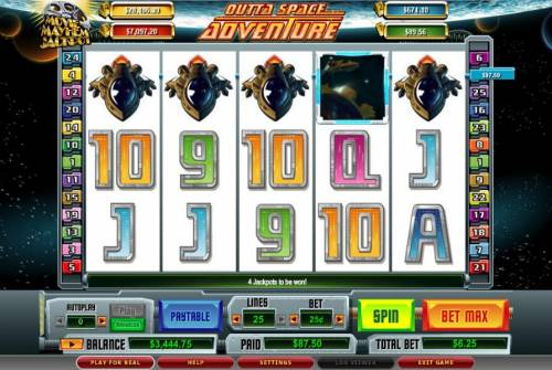 Outta Space Adventure review on Big Bonus Slots