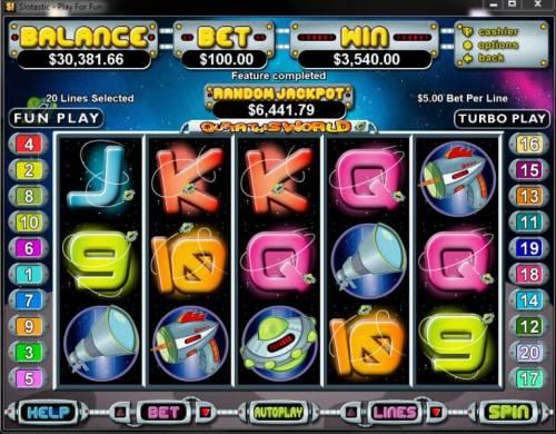 Outta This World review on Big Bonus Slots