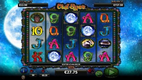 Owl Eyes review on Big Bonus Slots