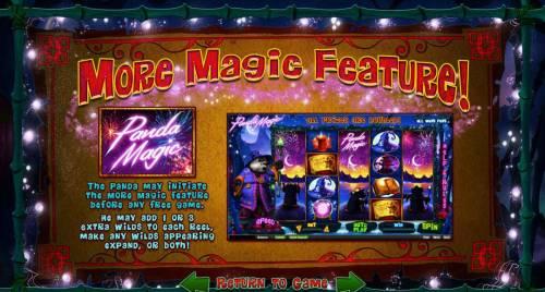 Panda Magic review on Big Bonus Slots