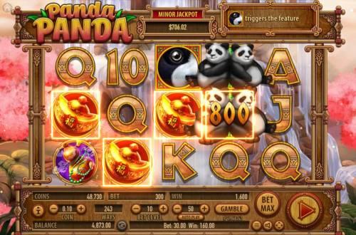 Panda Panda review on Big Bonus Slots
