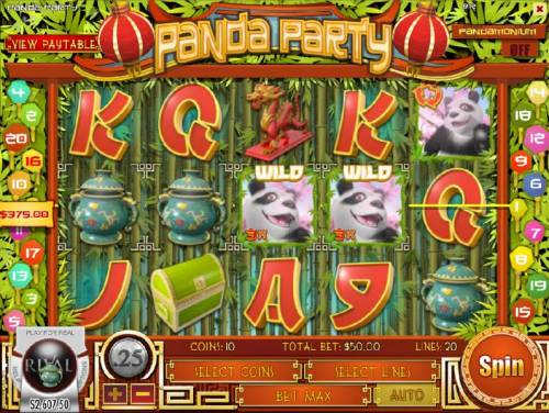 Panda Party review on Big Bonus Slots