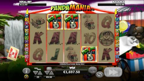 Pandamania review on Big Bonus Slots