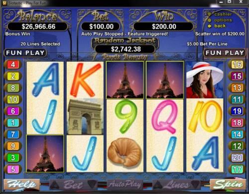 Paris Beauty Big Bonus Slots