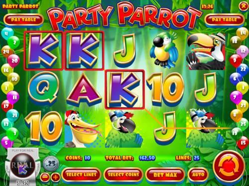 Party Parrot review on Big Bonus Slots