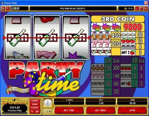 Party Time Big Bonus Slots