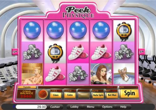 Peek Physique review on Big Bonus Slots