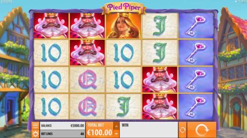 Pied Piper Big Bonus Slots Main Game Board