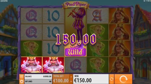 Pied Piper Big Bonus Slots A winning three of a kind