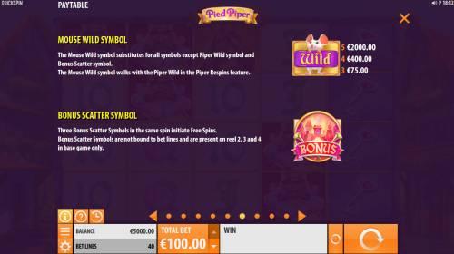 Pied Piper review on Big Bonus Slots