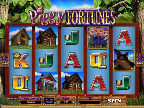 Piggy Fortunes review on Big Bonus Slots