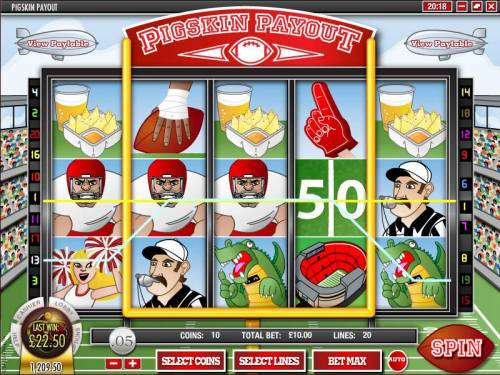 Pigskin Payout review on Big Bonus Slots