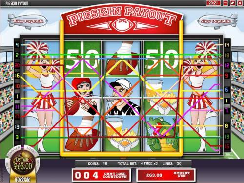 Pigskin Payout review on Big Bonus Slots