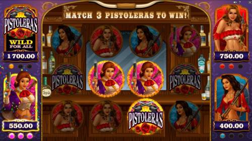 Pistoleras review on Big Bonus Slots
