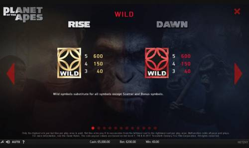 Planet of the Apes review on Big Bonus Slots