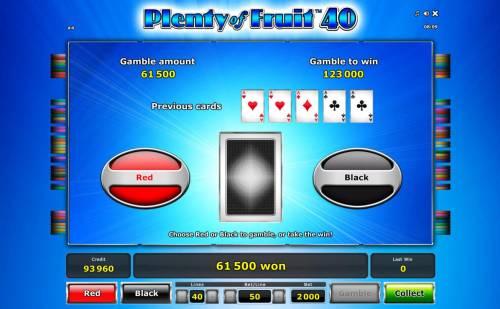 Plenty of Fruit 40 review on Big Bonus Slots