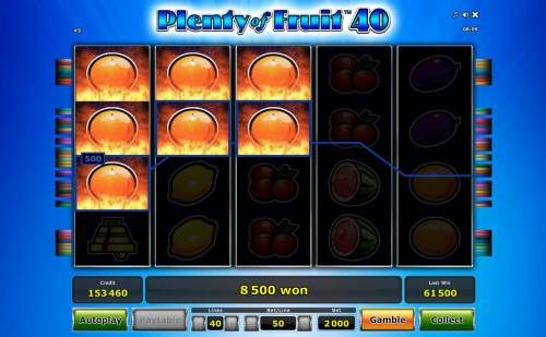 Plenty of Fruit 40 review on Big Bonus Slots