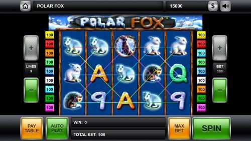 Polar Fox review on Big Bonus Slots