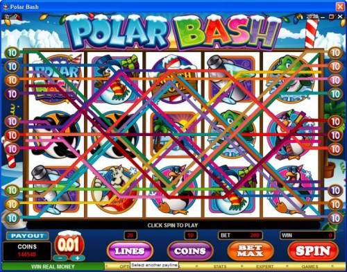 Polar Bash review on Big Bonus Slots