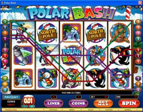 Polar Bash review on Big Bonus Slots