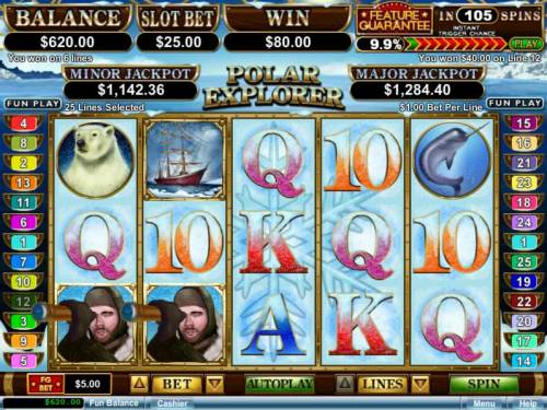 Polar Explorer review on Big Bonus Slots