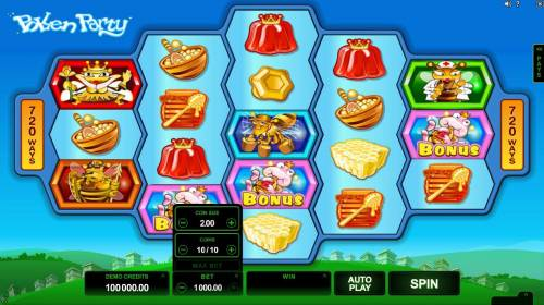Pollen Party Big Bonus Slots Click on the BET button to adjust the coin size, coins per line and numbers of lines played.