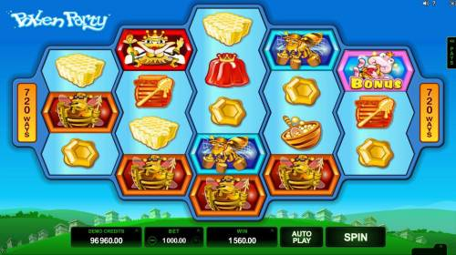 Pollen Party review on Big Bonus Slots