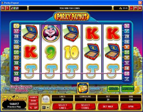 Porky Payout review on Big Bonus Slots