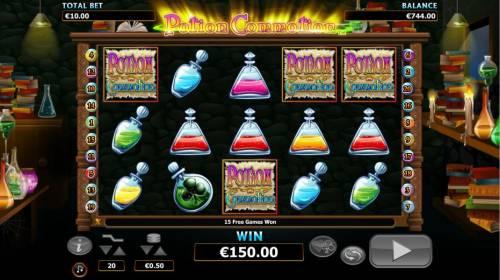 Potion Commotion review on Big Bonus Slots
