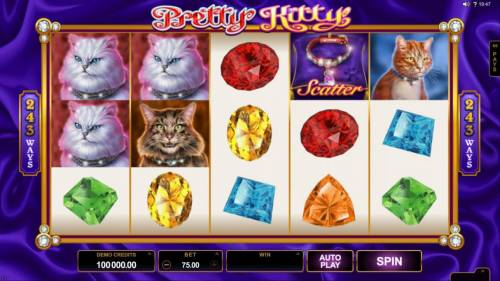 Pretty Kitty review on Big Bonus Slots