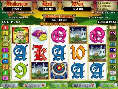 Prince of Sherwood review on Big Bonus Slots