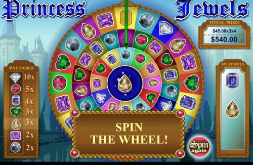 Princess Jewels review on Big Bonus Slots