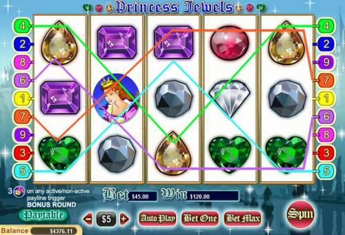 Princess Jewels review on Big Bonus Slots