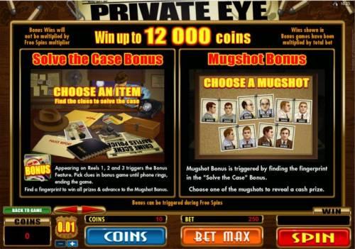 Private Eye review on Big Bonus Slots
