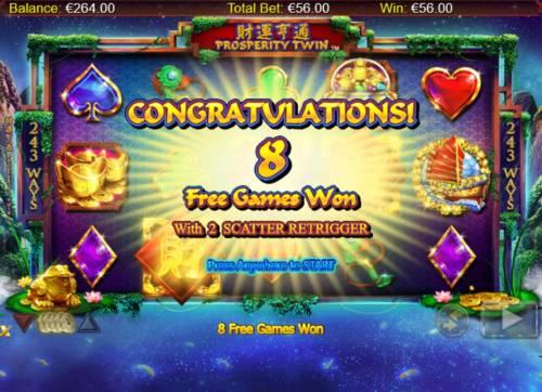Prosperity Twin review on Big Bonus Slots