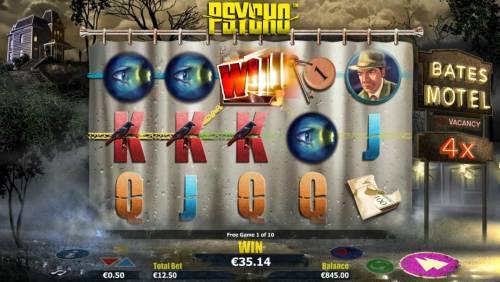 Psycho review on Big Bonus Slots