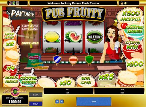 Pub Fruity review on Big Bonus Slots