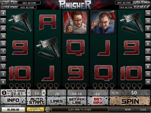 Punisher - War Zone review on Big Bonus Slots