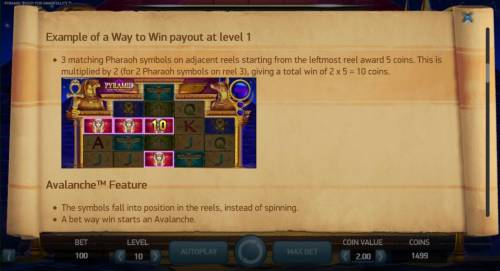Pyramid Quest for Immortality review on Big Bonus Slots
