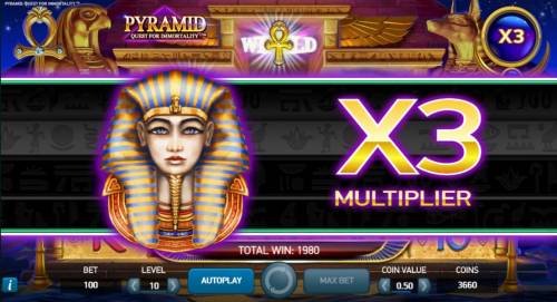 Pyramid Quest for Immortality review on Big Bonus Slots