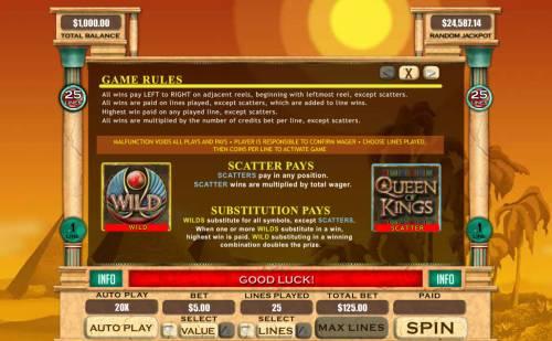 Queen of Kings review on Big Bonus Slots