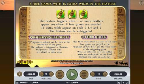 Queen of Queens II Big Bonus Slots Feature Rules