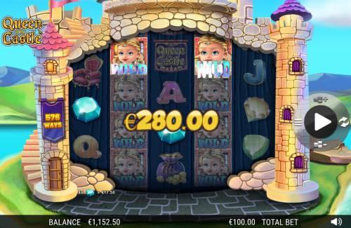 Queen of the Castle review on Big Bonus Slots