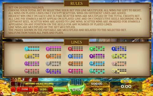 Queen of the Seas review on Big Bonus Slots