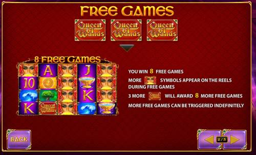 Queen of Wands Big Bonus Slots Free Game Rules