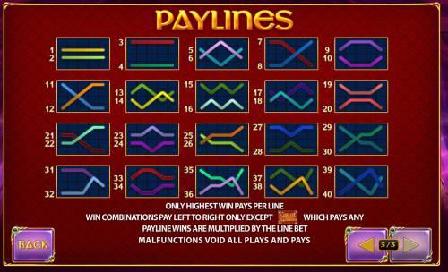 Queen of Wands Big Bonus Slots Paylines 1-40